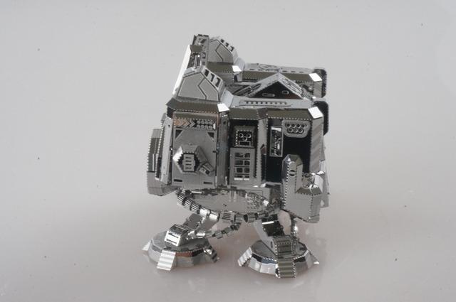 MU Metal 3D Puzzle Star Craft UMC-N01 Quartel Terran Modelo de Construção DIY 3D Montar Brinquedos de Corte A Laser Para Adulto