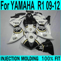 Free custom fairings For YAMAHA R1 2009 2010 2011 2012 2013 Fairings ( Lucky decal ) Injection Fairing kit XP57