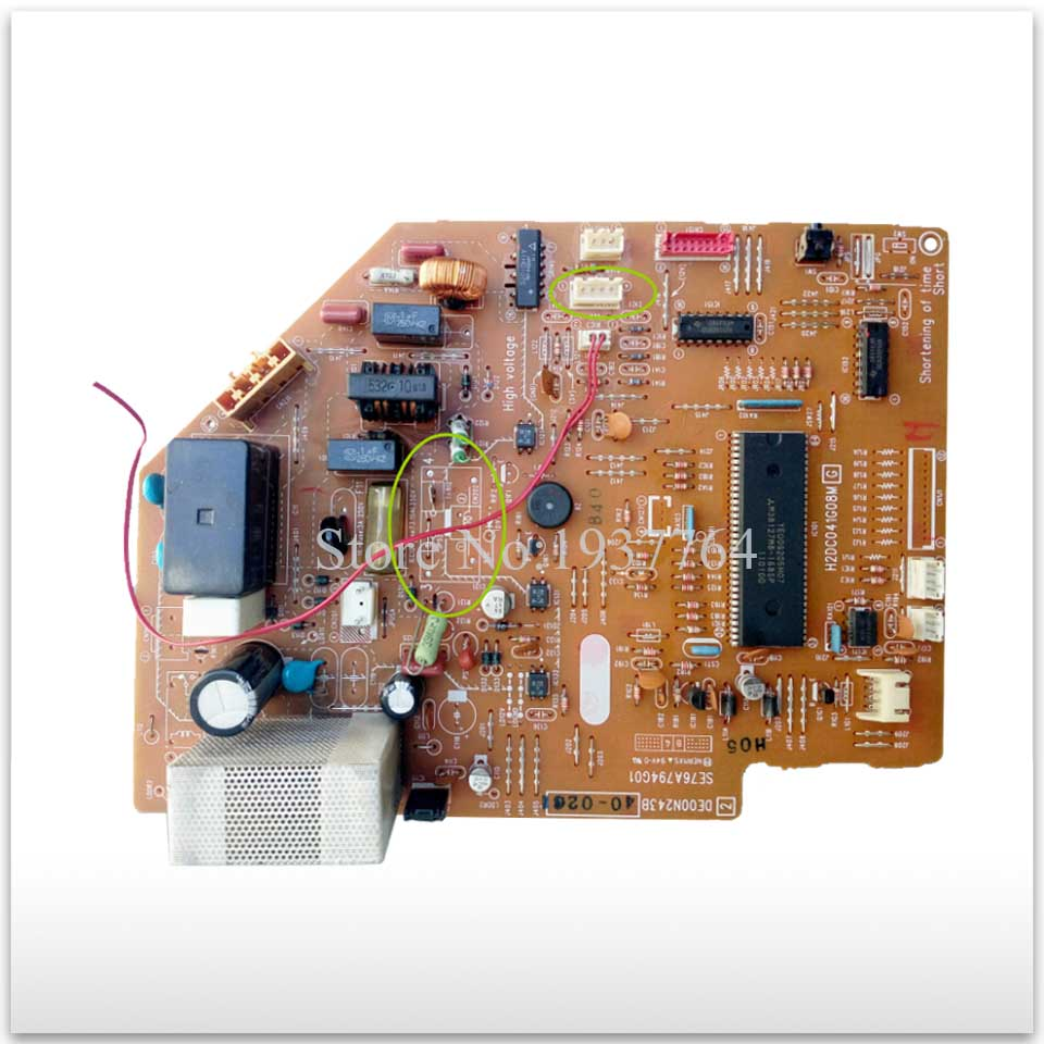 US $60 06 9% OFF|95% new for Mitsubishi Air conditioning computer board  circuit board DE00N243B SE76A794G01 good working-in Air Conditioner Parts  from