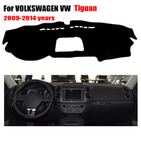 Car Dashboard Cover For VOLKSWAGEN VW New Tiguan 2009 2014 Left Hand Drive Dashmat Pad Dash