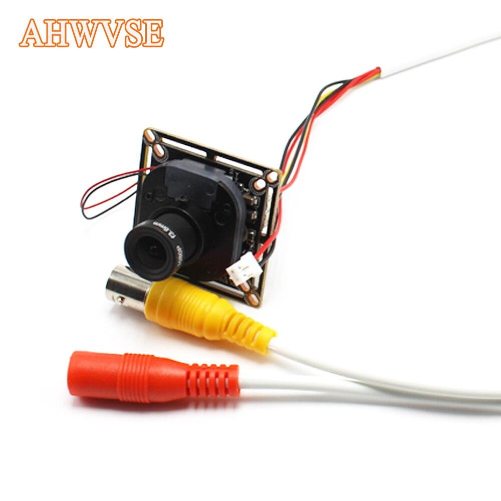 AHWVSE Wide Angle 2.8mm lens AHD Camera Module CMOS 2000TVL AHDH 2MP 720P 1080P Ultra Low Illuminatio Mini Security For AHD DVR