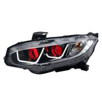 Auto Exterior Daytime Running Automobiles Assembly Cob Lamp Styling Led Drl Car Lighting Headlights Rear Lights For Honda Civic