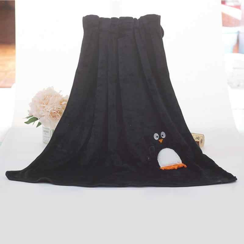 Papai Noel Dos Desenhos Animados Fluff Cobertor Lance Para Meninas Crianças Na Cama Sofá Ar Condicionado Cobertor Sofá 100X80 cm caçoa o Presente