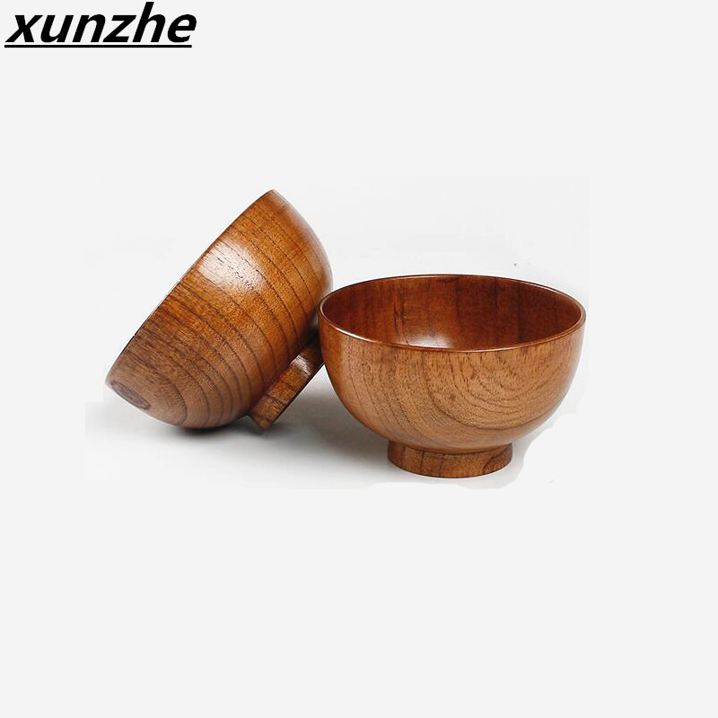 xunzhe cm cm de madera de azufaifo naturales tazn cuencos aislamiento trmico cocina