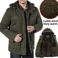 Alta Qualidade Novos Homens de Inverno Da Marca Jaqueta Casacos Quentes dos homens Casaco de homem Outono Velo de Algodão Parka Ao Ar Livre Coats Plus Size M-8XL
