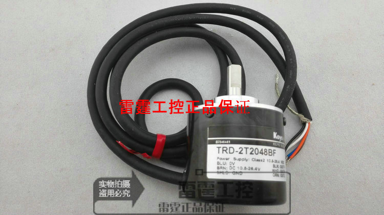 KOYO new original authentic real axis photoelectric incremental rotary encoder TRD-2T2048BF koyo trd j1000 rzw 1000p r photoelectric incremental rotary encoder 1000ppr trdj1000rzw