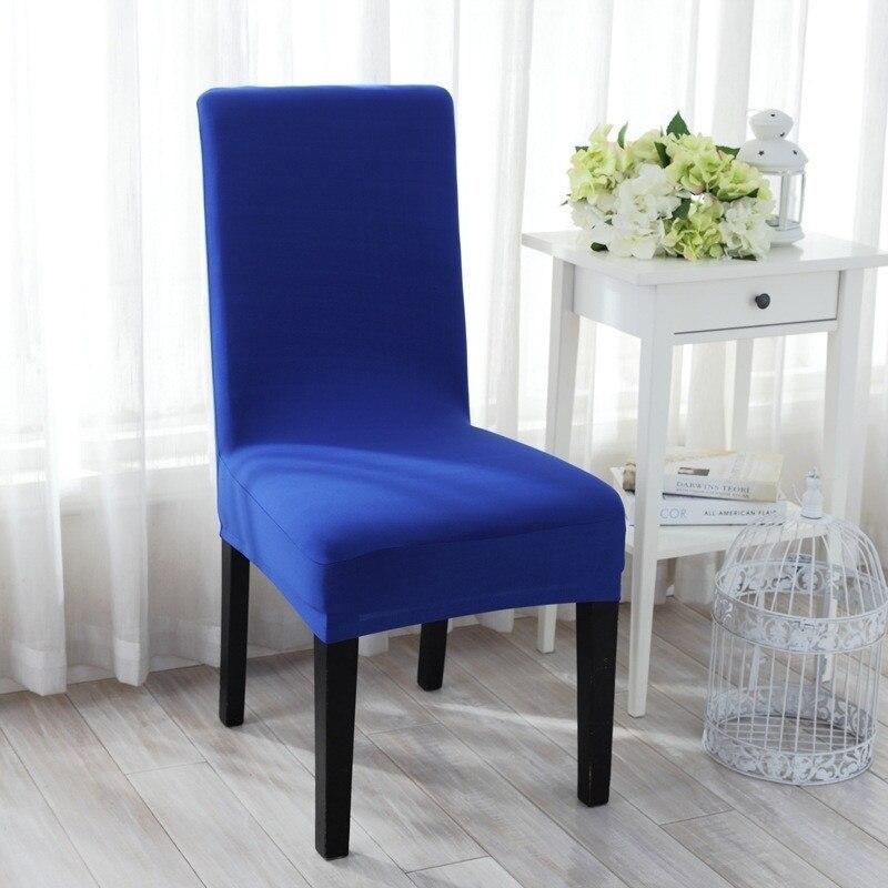 NEUE Universal Stuhl Sitzbezug Hohe Elastische Reine Farbe ...