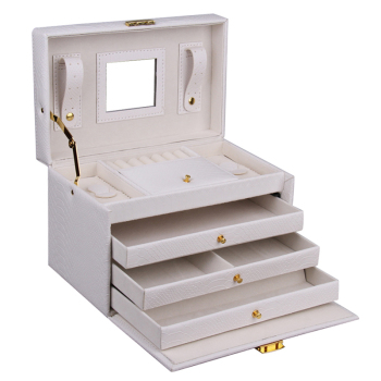 Jewelry Storage Box and Display Organizer