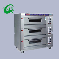 3layers 9trays electric commercial horizontal oven, Commercial electric oven bread cake oven