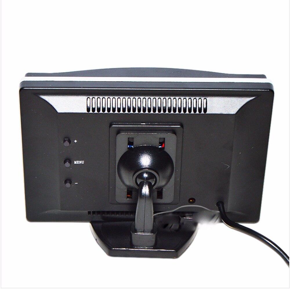 5 Inch Auto Monitor TFT LCD Screen HD Digital Farbe Auto Rückansicht Monitor Unterstützung DVD/Kamera/Digital TV box