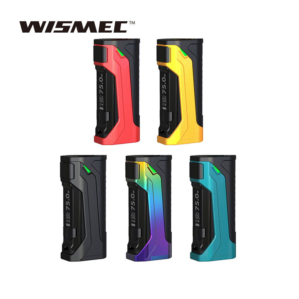 купить New Original WISMEC CB-80 TC Box MOD with Max 80W Output & USB Charging & 2A Quick Charging E-cig Vape Mod No Battery недорого