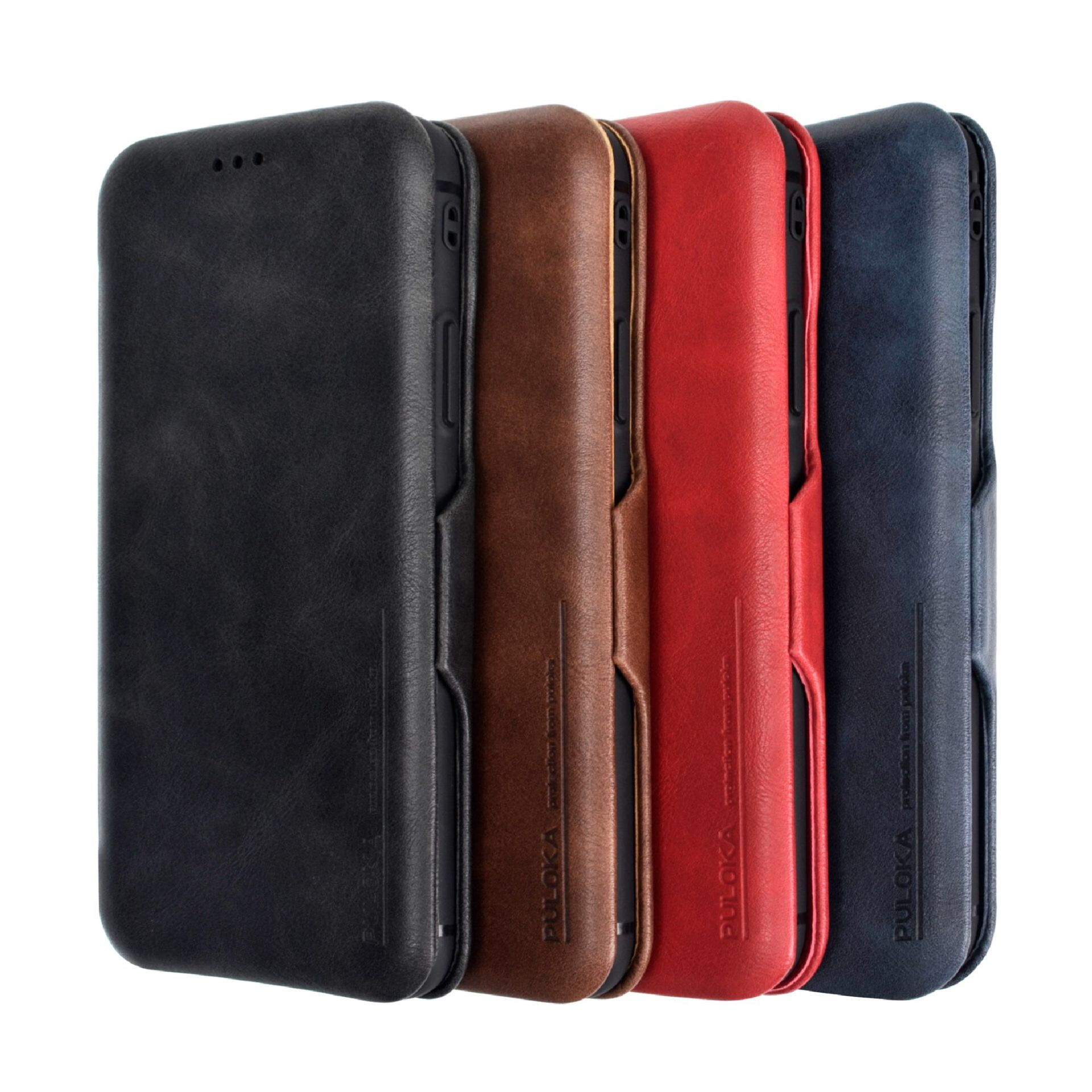 CYATO Luxury Case Leather Cover For iPhone XS Max XR X XS 6 6S 7 8 Plus Phone Cases Magentic Slide Coque Card Holder Wallet Bag in Fitted Cases from Cellphones Telecommunications