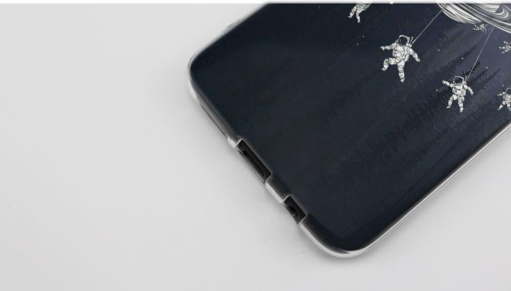 Kmuysl карусели планета пространство Alien Sky ТПУ прозрачный мягкий чехол В виде ракушки Coque для Samsung Galaxy S9 S8 плюс S7 S6 edg