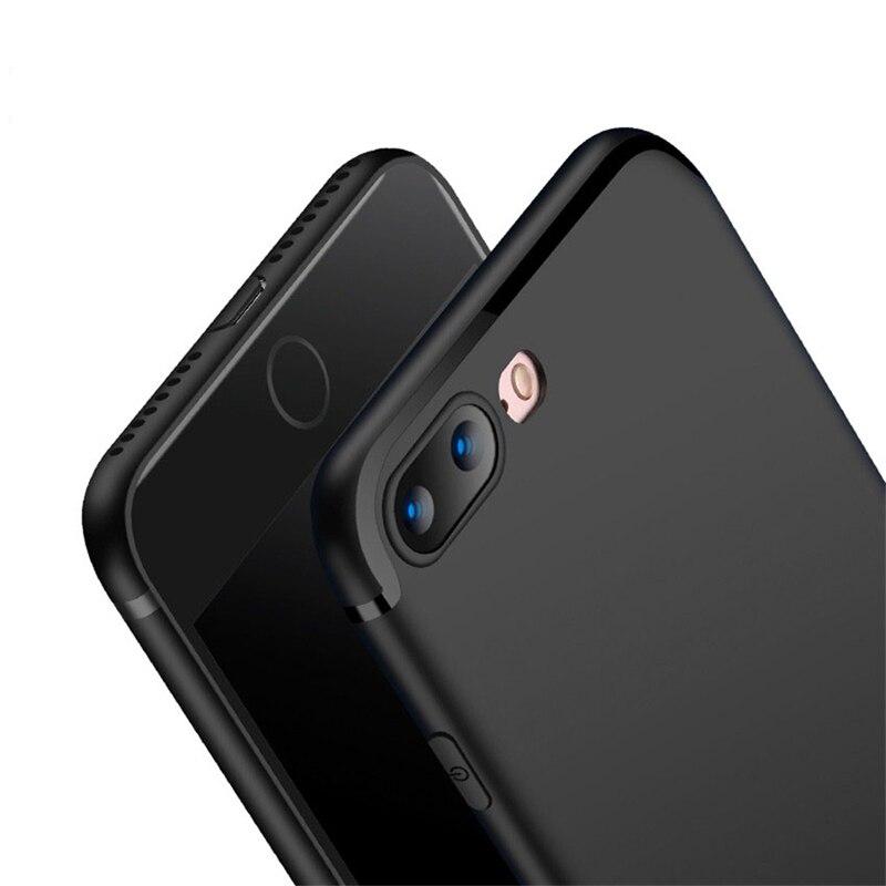 Oppselve Luxo 7 Silicone TPU Phone Case Para iPhone 6 6s 8 Plus Ultra Fino Bonito Capinhas Para iPhone 7Plus 6 Além Da Tampa Do Caso Capa