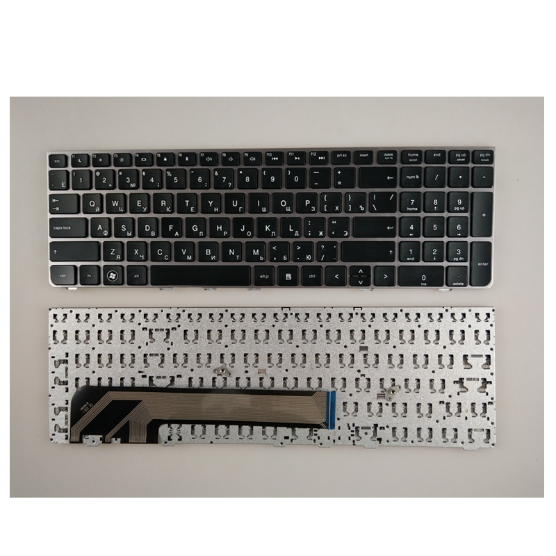 Image 2 - Russian Keyboard for HP for PROBOOK 4530 4730 4530S 4730S 4535S 4735s 6037B0059628 638179 DJ1 NSK CC0SV RU Black keyboard-in Replacement Keyboards from Computer & Office on