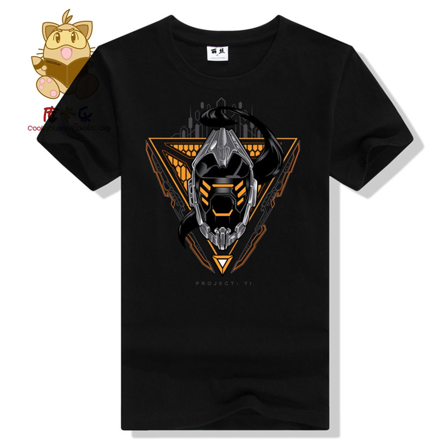 2017 game tee shirt LOL hero Master Yi t shirt Project Master Yi colorful t shirts as 328 ...