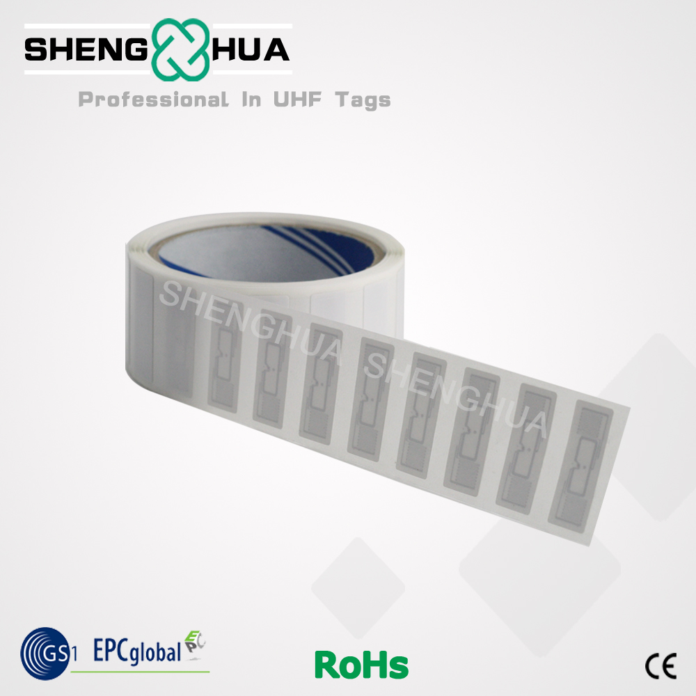 10pcs/lot Warehouse RFID Labels EPC1 G2 Long Distance 915mhz RFID Stickers Self-adhesive Tags Small Size 39*14mm