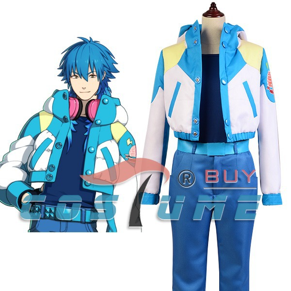 Dramatical Murder Aoba Seragaki Cosplay Costume Full Set Custom Made