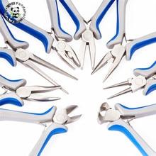 Pandahall pinces chaudes, outils de fabrication de bijoux, acier trempé au carbone, multi usage, perles, 8 pièces/ensembles F55