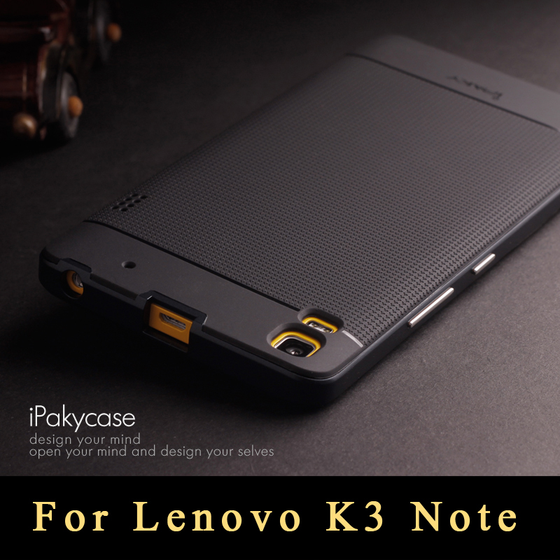 New slim Lenovo K3 Note Case, ipaky Brand PC Frame+ Soft Matte Silicone Back Cover For Lenovo Lemon K3 Note phone Case