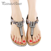 Summer Women Shoes Crystal Stylish Comfortable Breathable Seaside Beach Flip Flopswomen Sandals Pasoataques Brand 527 1