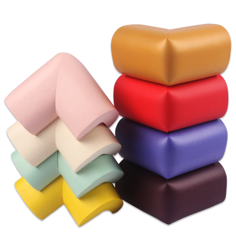 1Pcs 60*60*12mm Soft Baby Safe Corner Protector Baby Kids Table Desk Corner Guard Children Safety Edge Guards