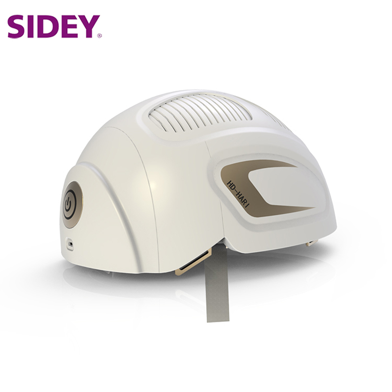 SIDEY LLLT Hair Loss Therapy <font><b>Laser</b></font> Cap 680nm/<font><b>850nm</b></font> 150 <font><b>Diodes</b></font> <font><b>Laser</b></font> Hair Growth Helmet image