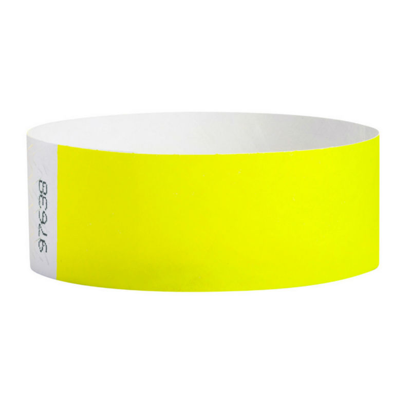 Paper wrist bands