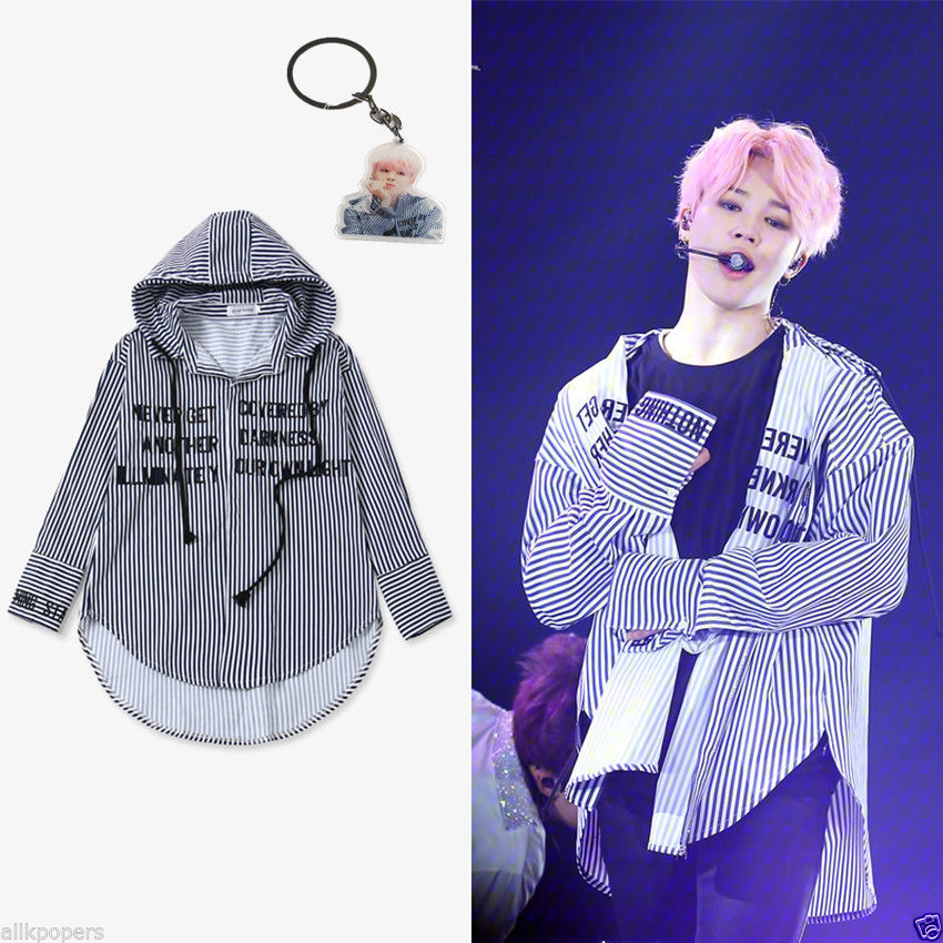 aliexpress com   buy allkpoper kpop bts jimin striped shirt bangtan boys wings fansigning