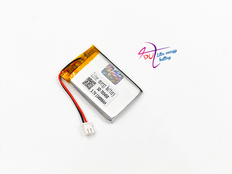 JST XH 2.54mm 703450 3.7V 1500MAH 703448 Lithium Polymer LiPo Rechargeable Battery For Mp3 headphone PAD DVD bluetooth cameraJST XH 2.54mm 703450 3.7V 1500MAH 703448 Lithium Polymer LiPo Rechargeable Battery For Mp3 headphone PAD DVD bluetooth camera