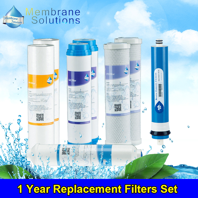 5 stage reverse osmosis replacement filters ro system ms year replacement filters set for stage ro water filtration systems reverse osmosis fiter