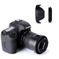 K F CONCEPT 58mm Reversible Flower Lens Hood For Sony Nikon D90 D3100 D5100 D7200 Canon