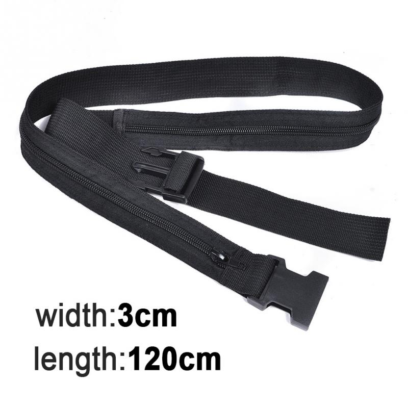 Travel Nylon Waist Packs Bags For Secret Waist Money Belt Hidden Security Safe Pouch Wallet Ticket Protect