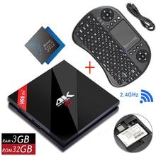 Original H96 PRO Plus + Android 7.1 TV Box 3G 32G ROM Amlogic S912 64bit WIFI Bluetooth 4.1 Gigabit LAN 4K&2K Smart Media Player