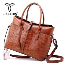 LIKETHIS Brand  Vintage Women PU Leather Handbags Luxury Shoulder Bags High Quality 2019 Multifunction Crossbody Bag Bolso Mujer