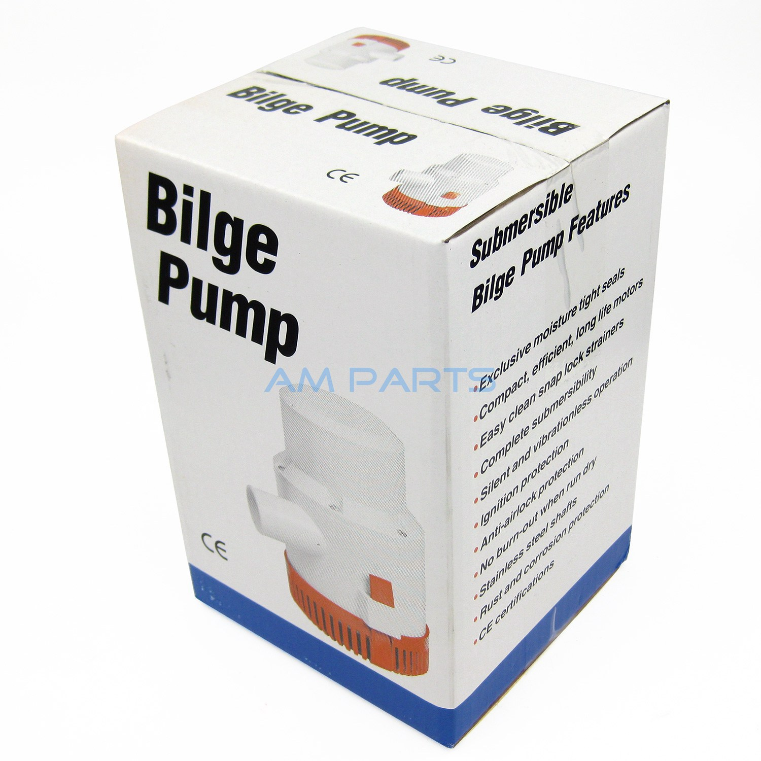 Aliexpress com : Buy 12V 4700GPH Bilge Pump Marine Boat Submersible Water  Pump With Float Switch from Reliable Marine Pump suppliers on A&M PARTS