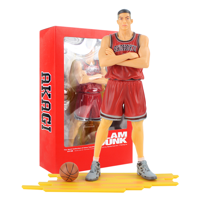 New Hot The Spirit Collection of Inoue Takehiko Slam Dunk Akagi Basketball Player Figurine PVC Action Figure Model Toys image