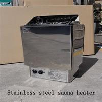 9 кВт сауна печь паровой генератор для душа из нержавеющей стали сауна нагреватель сухая сауна печь бытовая нагревательная печь CE сертифици