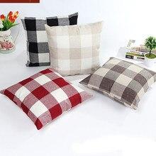 Varios cuadrados Simple almohada cubierta sofá cama para decoración de hogar 45cm * 45cm nueva y de alta calidad funda de cojín para coche