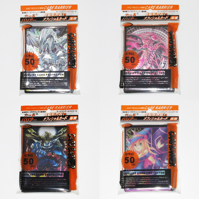 (4 packs/lot) Yu-Gi-Oh! Classic Pattern Card Protectors Dragons Yugi Muto 5D-S ZEXAL Toy Yugioh Game Collection Card Sleeves
