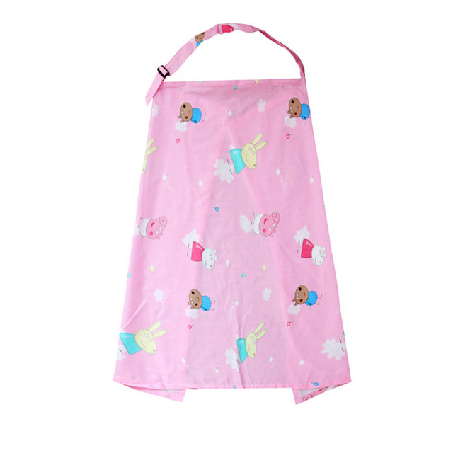 Breastfeeding Cover Baby Infant Breathable Cotton Muslin Nursing Cloth Large Size Big Nursing Cover Feeding Cover 70*100