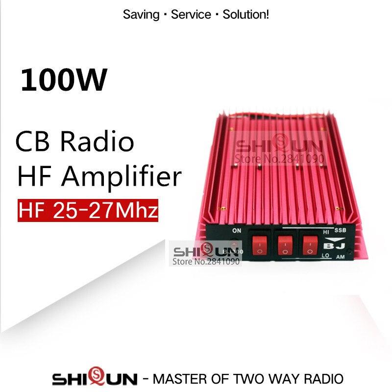 100W HF Amplifier CB Radio Power Amplifier Walkie Talkie CB Amplifier 100W HF 25 27MHZ Automatic