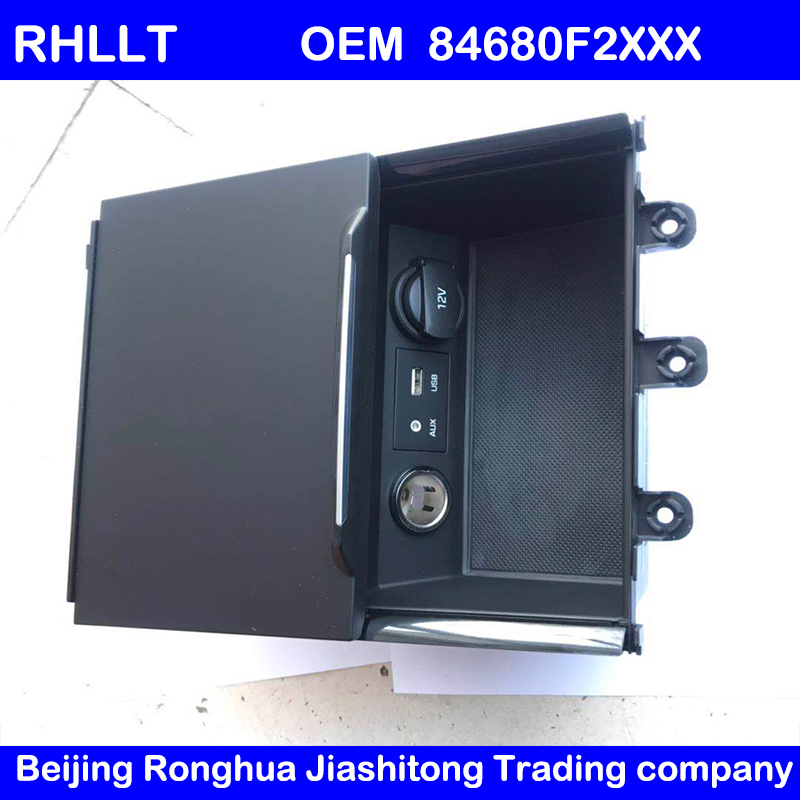 For HYUNDAI ELANTRA AD Control panel USB reader iPod ASSY AUX port adapter OEM 84680F2XXX