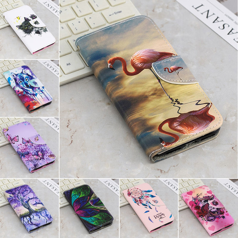 Wallet Cases Flip Book Case For Coque Xiaomi Mi A1 Luxury Cat Panda Wolf Leather Wallet Phone Cover For Xiaomi Mi A1 Case Etui For Xiomi Mia1 Cellphones & Telecommunications