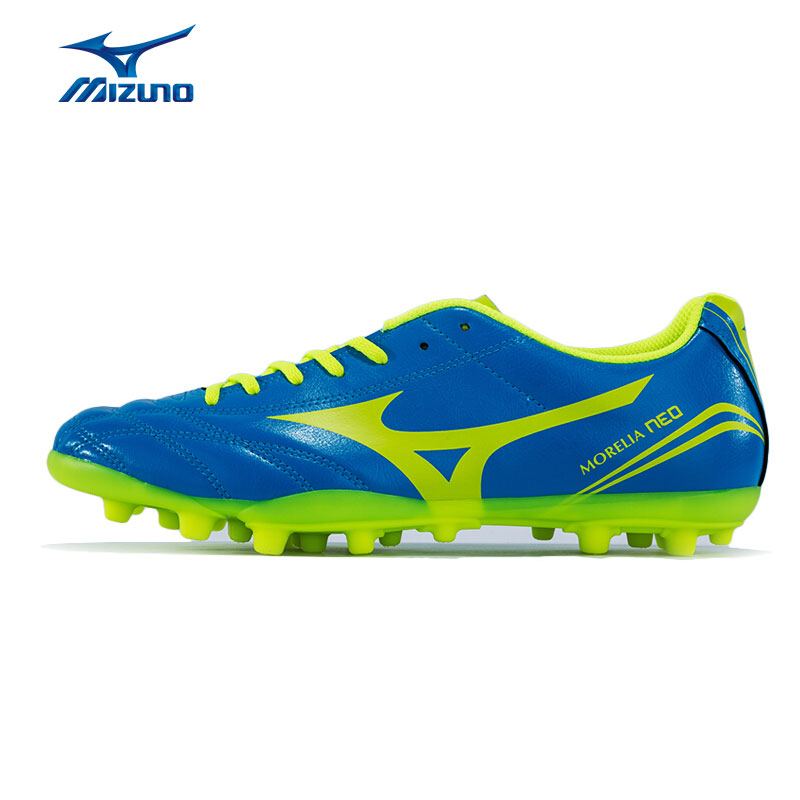 MIZUNO Men's MORELIA NEO CL AG Soccer Shoes Cushioning Slip-Resistance Sports Shoes Sneakers P1GA165844 YXZ056 2008 donruss sports legends 114 hope solo women s soccer cards rookie card
