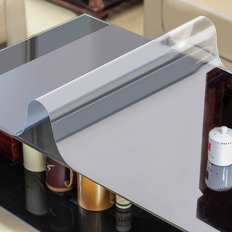 Soft Glass Tablecloth Waterproof Transparent Pvc Tablecloth For Square Table  Cover Oil Cloth Plastic Table Cloths