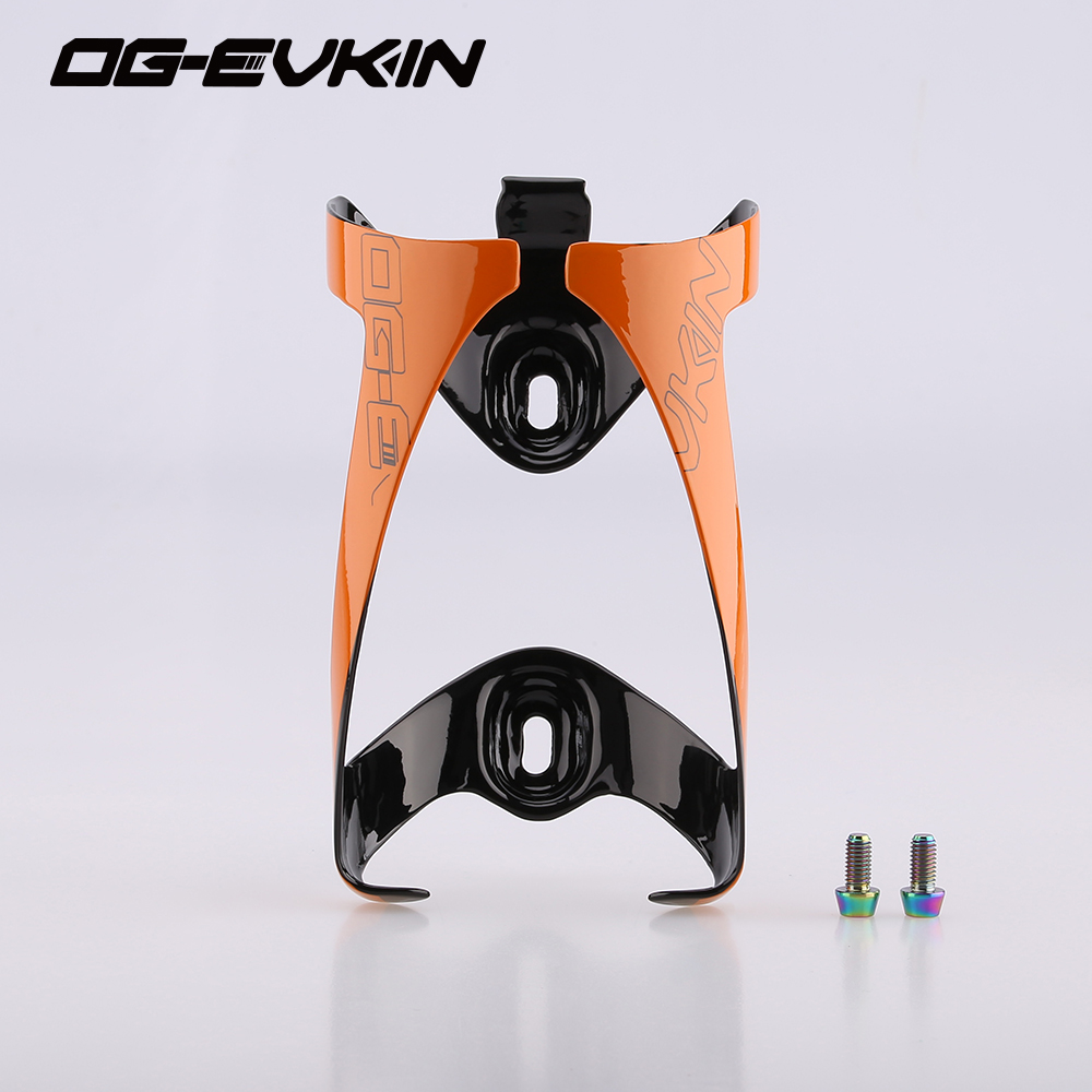 NEW HOT!! Titanium alloy screws Best carbon bottle cages Matt Bicycle carbon water holder bike bottle cage Cycling OG-EVKIN