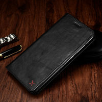 Original XOOMZ Wallet Case For Huawei Mate 9 Pro Luxury Genuine Leather Magnetic Flip Cover Phone