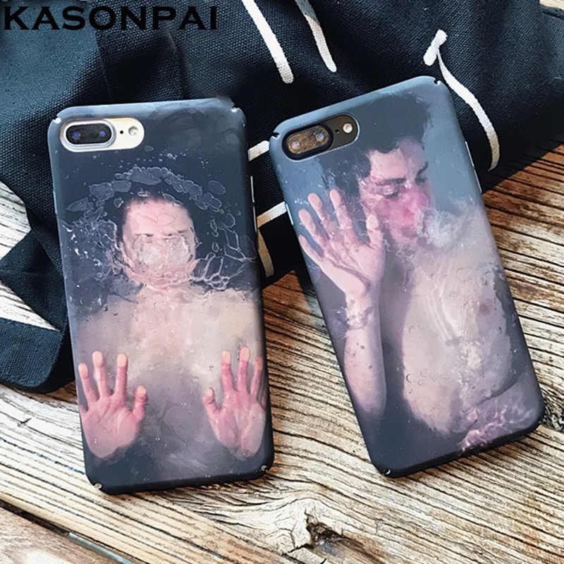 Чехлы для телефонов KASONPAI для пар для iPhone 7 6 6 S Plus, модный Европейский Американский стиль, задняя крышка для Apple iPhone 7 Plus