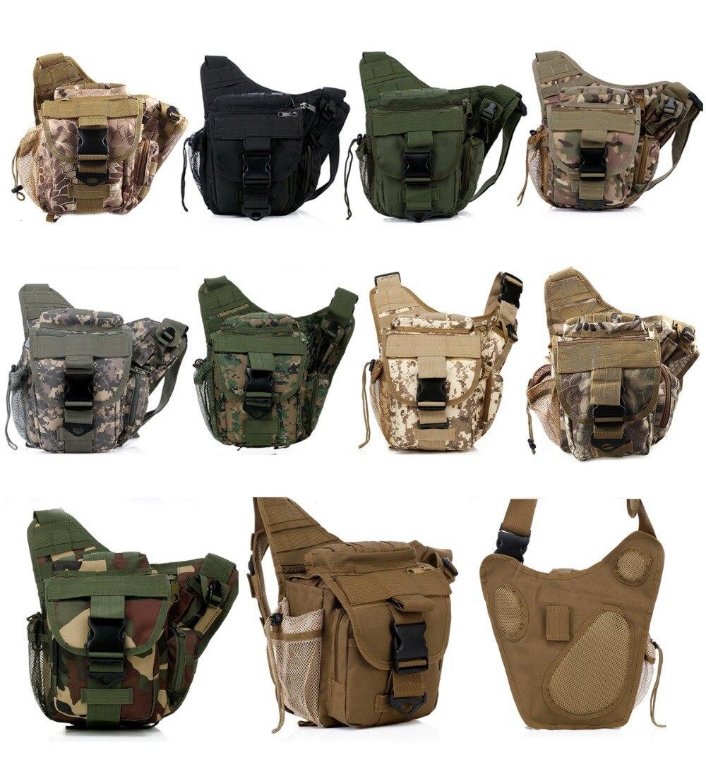 TacticalUtility Hombro Molle Alforja Backpack Deporte Al Aire Libre Escalada Bol